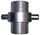 Aluminium Male BSPP x Male BSPP Fixed Adaptor
